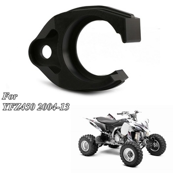 Motorcycle Black Plastic Swingarm Swing Arm Chain Guide Buffer Slider Seal Guard for Yamaha YFZ450 YFZ 450 2004-2013