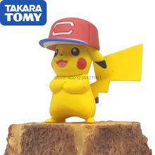 Takara tomy Подлинная кукла Покемон mc sun and moon pikachu