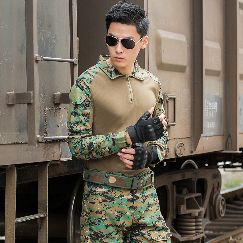 Military Uniform Frog Suit Tactical Clothing 2019 News Combat Proven Shirts Airsoft Disguise Army Soldier Camouflage Clothes