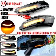 Dynamische Blinker Voor Renault Kaptur Captur J5 H5 Clio Iv MK4 4 Lutecia Grandtour Led Richtingaanwijzer 2013 2014 2015 2016 Licht