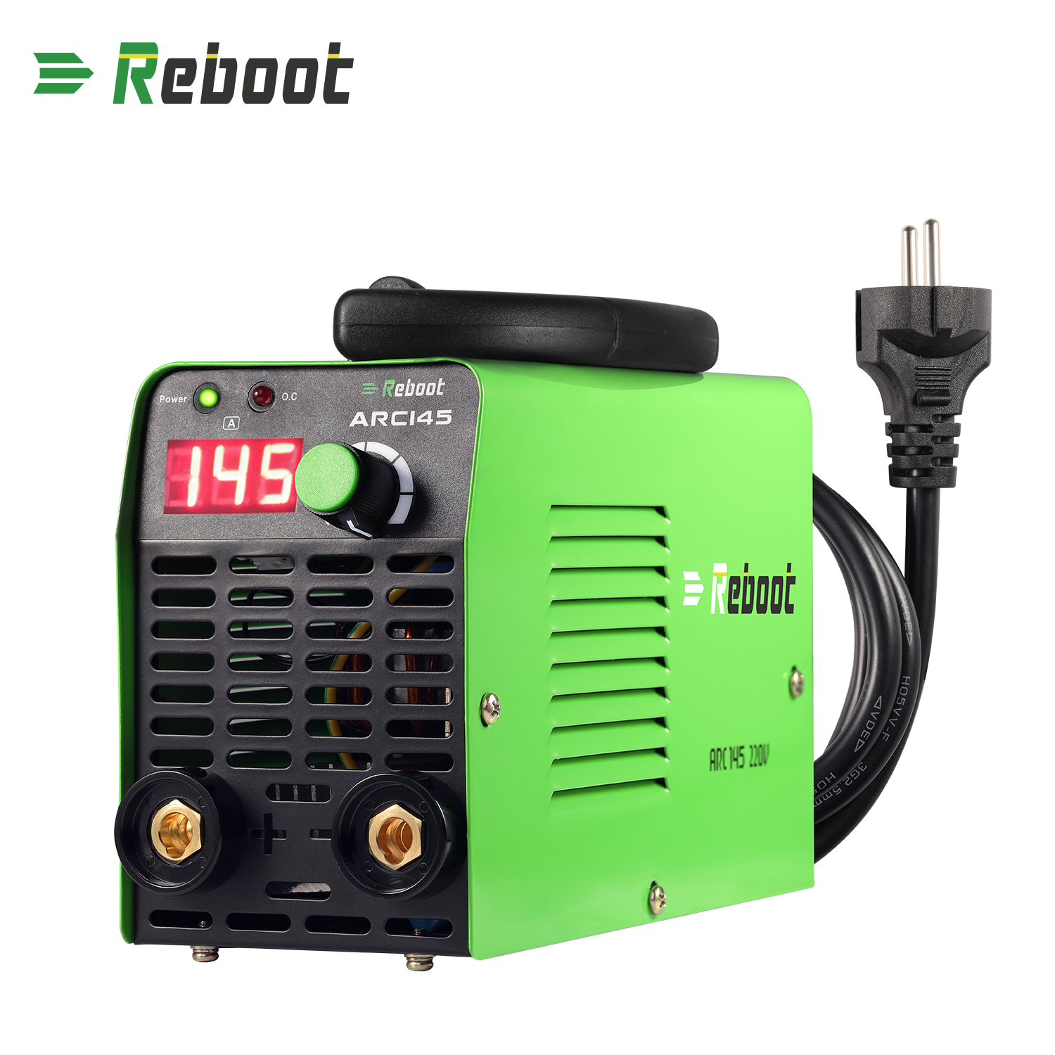 Stick Welder ARC Welding Machine 145A AC 110V/220V MMA Inverter Dual Volt Mini Welder Machine 1/16~1/8 Inch Electrode Portable