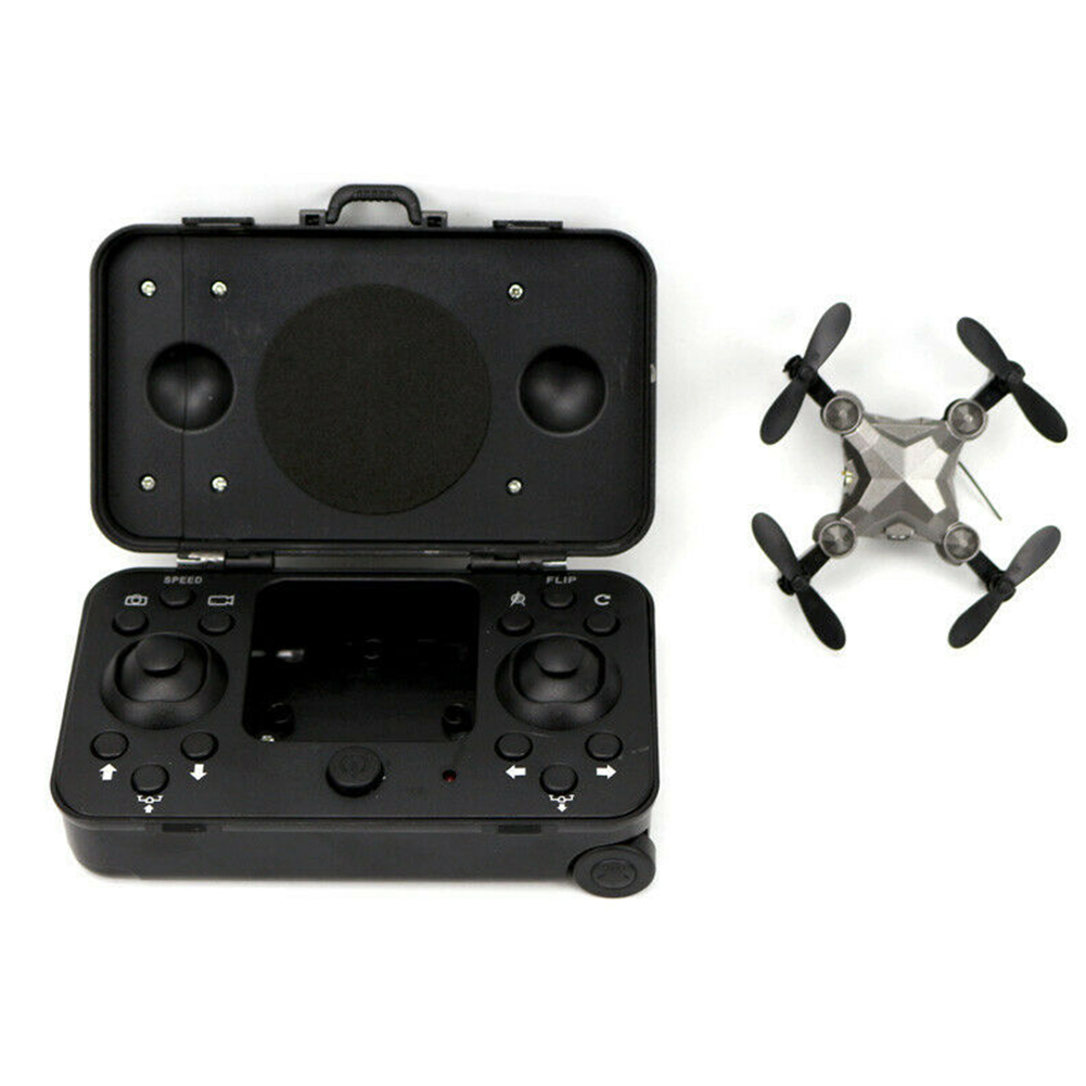 Quadcopter Photography Portable RC Drone WIFI HD With Box Folding Aerial Vehicle Mini Helicopters Toys Pocket FPV Camera