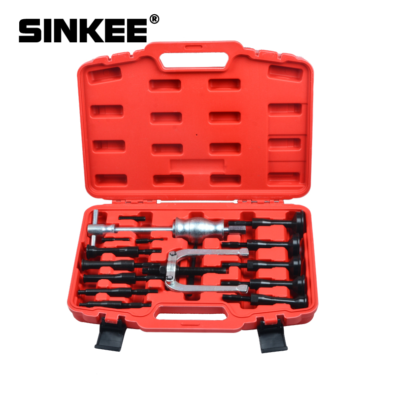 16pc Bearing Extractor Puller Set Blind Inner Bearing Removal Set SK1098