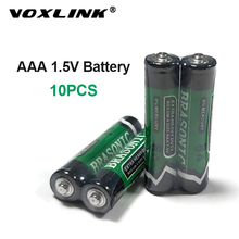 VOXLINK 10PCS Battery AAA 1.5V LR6 AM3 R03 MN1500 Carbon Dry Battery Primary Battery For keyboard camera flash razor electric sale 4 10pcs 1 5v lithium aa battery 3000mah lr6 am3 2a lifes2 cell dry primary battery for camera and toys electric shaver