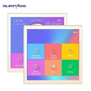 Image 4 - 스마트 홈 멀티미디어 미니 블루투스 벽 오디오 스크린 앰프 24 채널 무선 음악 센터 사운드 cenima 시스템 태블릿 usb