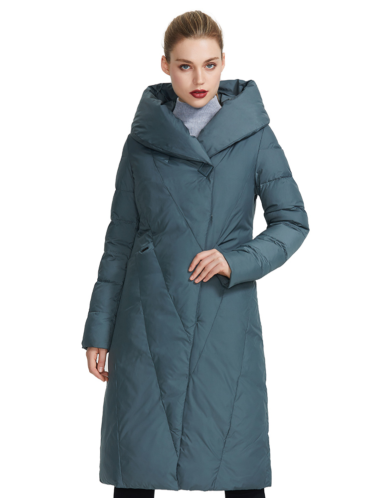 MIEGOFCE Women's Jacket Coat Winter Warm Fashion High-Quality Long Bio-Down Brand-New-Design