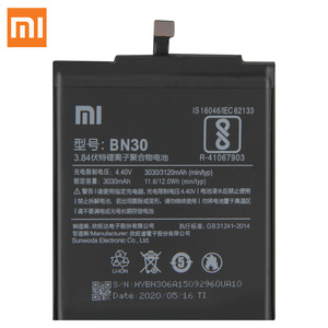 Image 2 - Xiao Mi orijinal yedek pil BN30 Xiaomi Mi Redrice Hongmi 4A otantik telefon pil 3120mAh