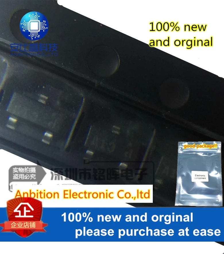 10pcs 100% New And Orginal MMBD1503A Silk-screen A13 SOT23 200mA 200V In Stock