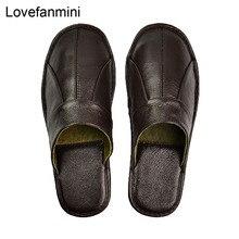 Zapatillas de piel de vaca antideslizantes para hombre y mujer, zapatos informales a la moda de hogar, con suelas blandas de PVC, para primavera y verano, 505