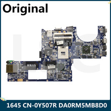 Laptop Motherboard PM55 HD4670 DELL 1645 DA0RM5MB8D0 XPS for Cn-0y507r/0y507r/Y507r/..