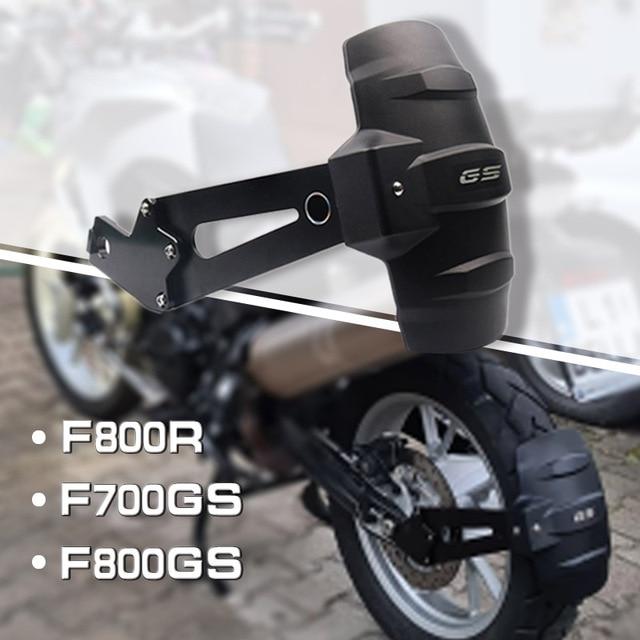 Accessoires de moto modifié garde-boue arrière garde-boue bavette garde couverture pour BMW F800GS F700GS F800R 2008-2017 2015 2016