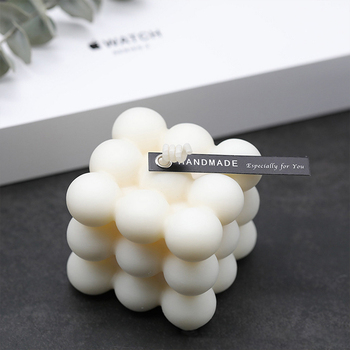 New DIY Candles Mould Soy Wax Candle Mold Aromatherapy Plaster Candle 3D Silicone Mold Hand-made Soy Aroma Wax Soap Candles Mold high qualit 1000g pack 100% pure soy wax for candle making diy candle material flake candle wax smokeless waxed diy candles