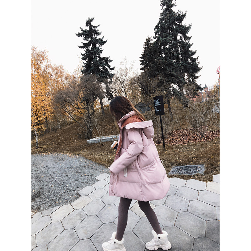 Mishow Women's 2018 winter  coats  warm thicken and loose outerwear MX18D8318