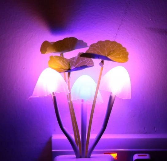 LED Smart Sensor Plug-in Wall Lamp Motion Sensor Household Illumination Nightlight Home Decor Creative Elephant Nightlight