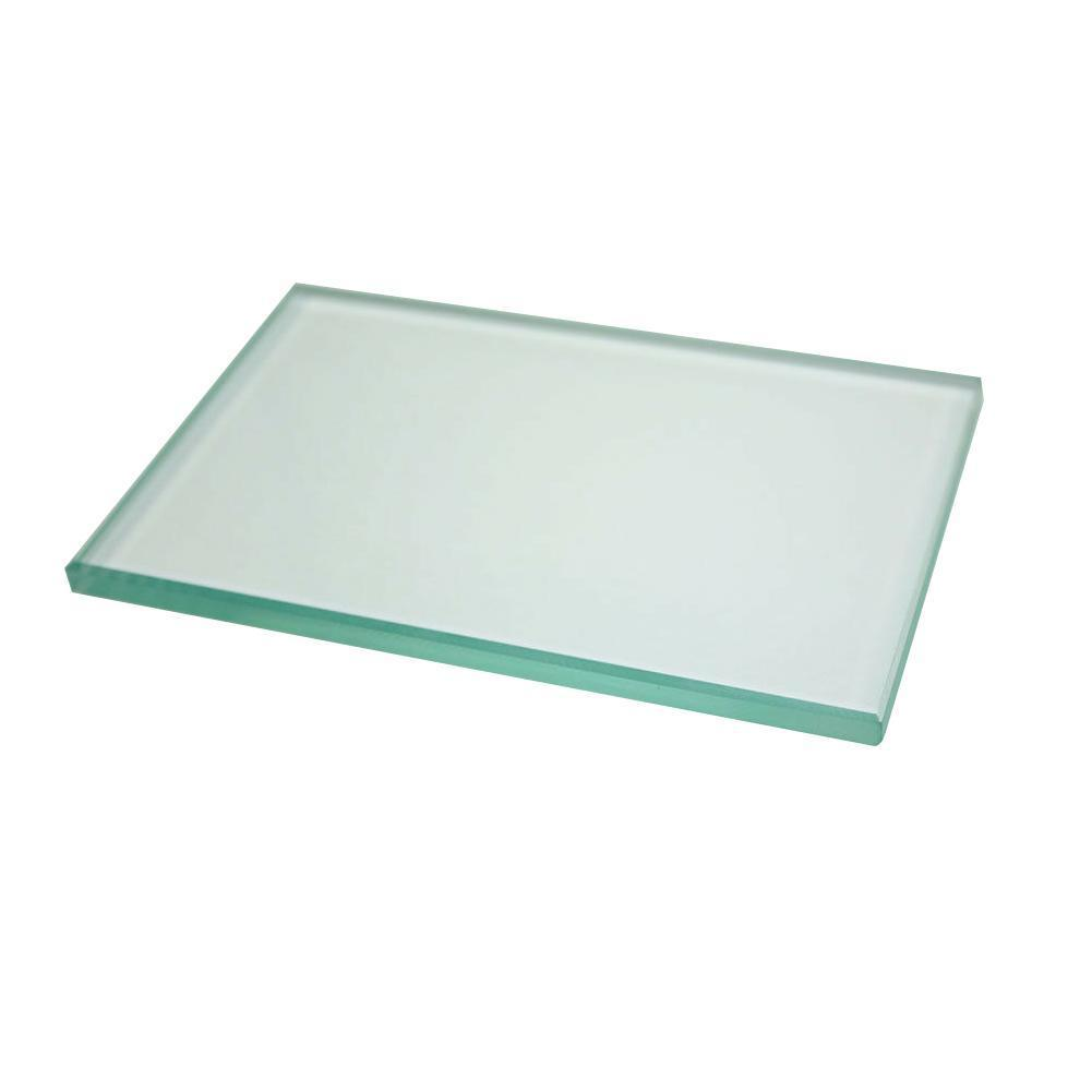 Dental Lab Mixing Glass Slab Glass Plate Board Size For Dental Teeth 124*78*7mm Mater Whitening G7J0