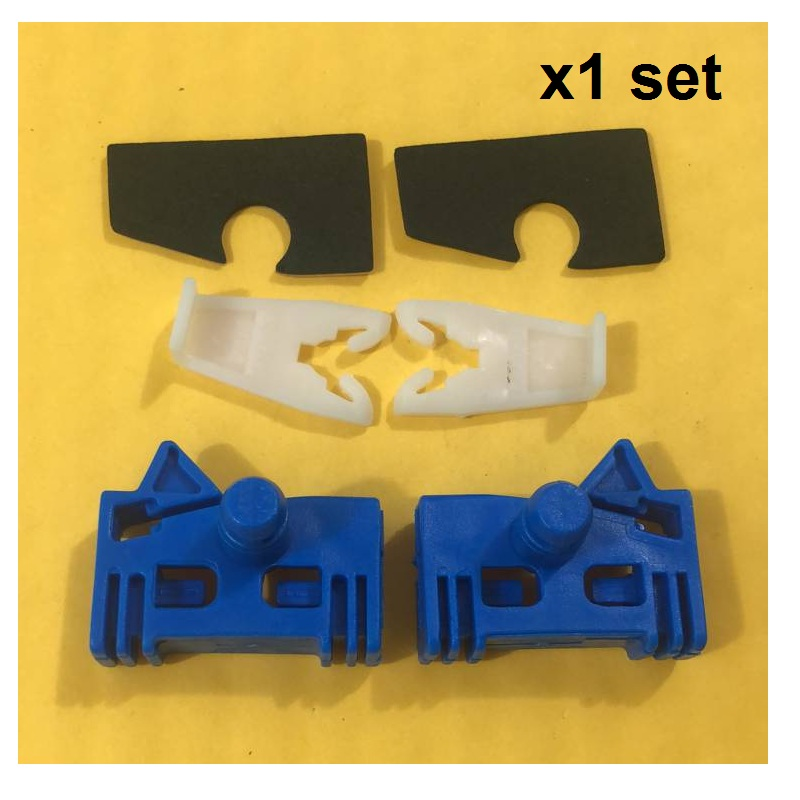 X 1 SET CLIPS FOR RENAULT ESPACE WINDOW REGULATOR REPAIR KIT FRONT-LEFT/RIGHT 2002-2016