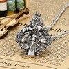Collier Antique viking argent  5