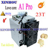 New Asic Bitcoin Miner Love Core A1Pro 23T BTC BCH Miner With PSU Economic Than Antminer S19 T19 S17 T17 Z15 WhatsMiner M21S M31 1