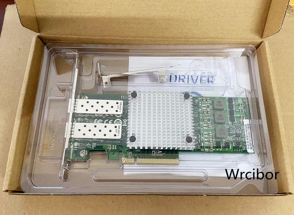 For Broadcom BCM57810S SFP Network Card 10GB Dual Port Optical Fiber Network Card 10Gbps Network Card