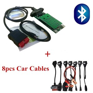Image 5 - Adapter Cables For delphis vd DS150E  OBD2 OBDII Cars Diagnostic Interface Tool Full Set 8 Car Cables For TCS  Pro Cable