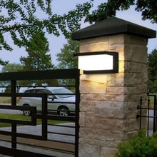 LED outdoor waterproof wall lamp Radar Motion Sensor led outdoor light porch light courtyard