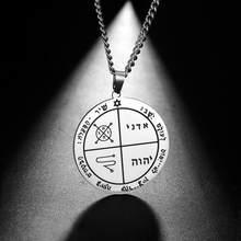Teamer – collier avec pendentif en acier inoxydable pour hommes, bijou Vintage Viking Wicca, Pentacle, Venus, Talisman, cadeaux