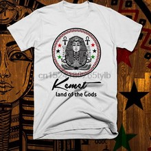 Egyptian Kemetic T-Shirt Egypt Ankh Eye Of Horus Pharaoh MAAT Land of Gods new(China)
