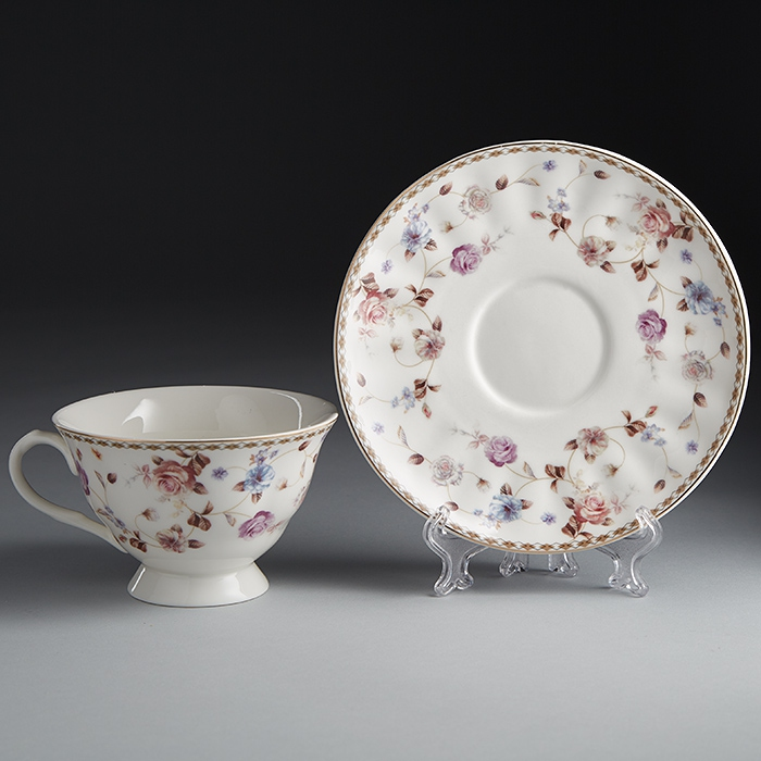 купить Set tea Rosario Angelica Ф2-035 P/6 to 6 персон, 12 pieces по цене 1650 рублей