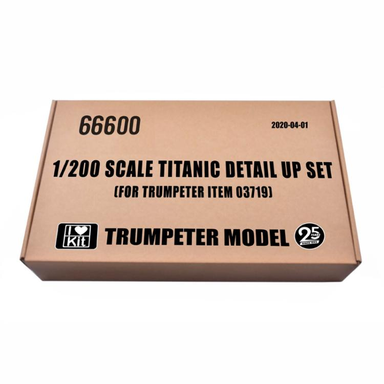 TRUMPETER 66600 1/200 SCALE TITANIC DETAIL UP SET [FOR TRUMPETER ITEM 03719