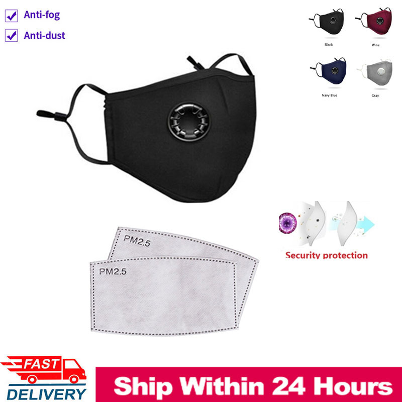 Face Mask As N95 Masks Anti Fog Anti PM2.5 Activated Carbon Filter Insert Reusable Unisex N95 Masks Feature As FFP3 KF94
