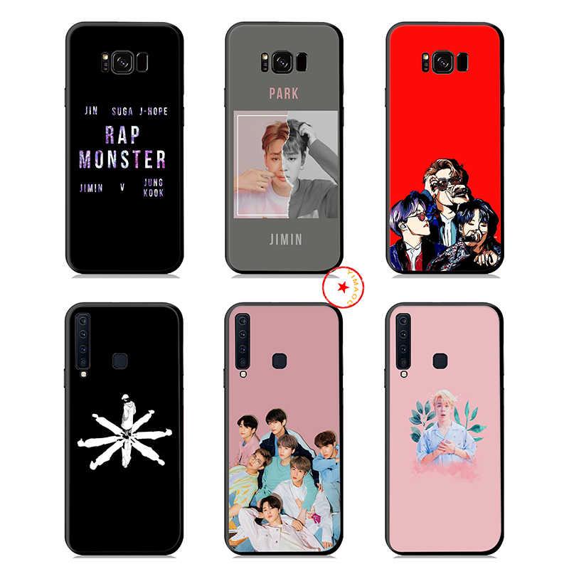 Park Ji Min Jimin K Pop yumuşak silikon Samsung kılıfı Galaxy S10 S10e S9 S8 artı S7 kenar Samsung not 10 9 8 artı