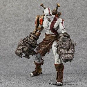 Image 3 - NECA 전쟁의 신 3 스파르타 kratos의 유령 PVC 액션 피규어 소장 모델 장난감