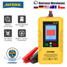 Autool EM335 Batteryless Car Jump Starter with Ultracapacitor Unlimited Use 12V Car Emergency
