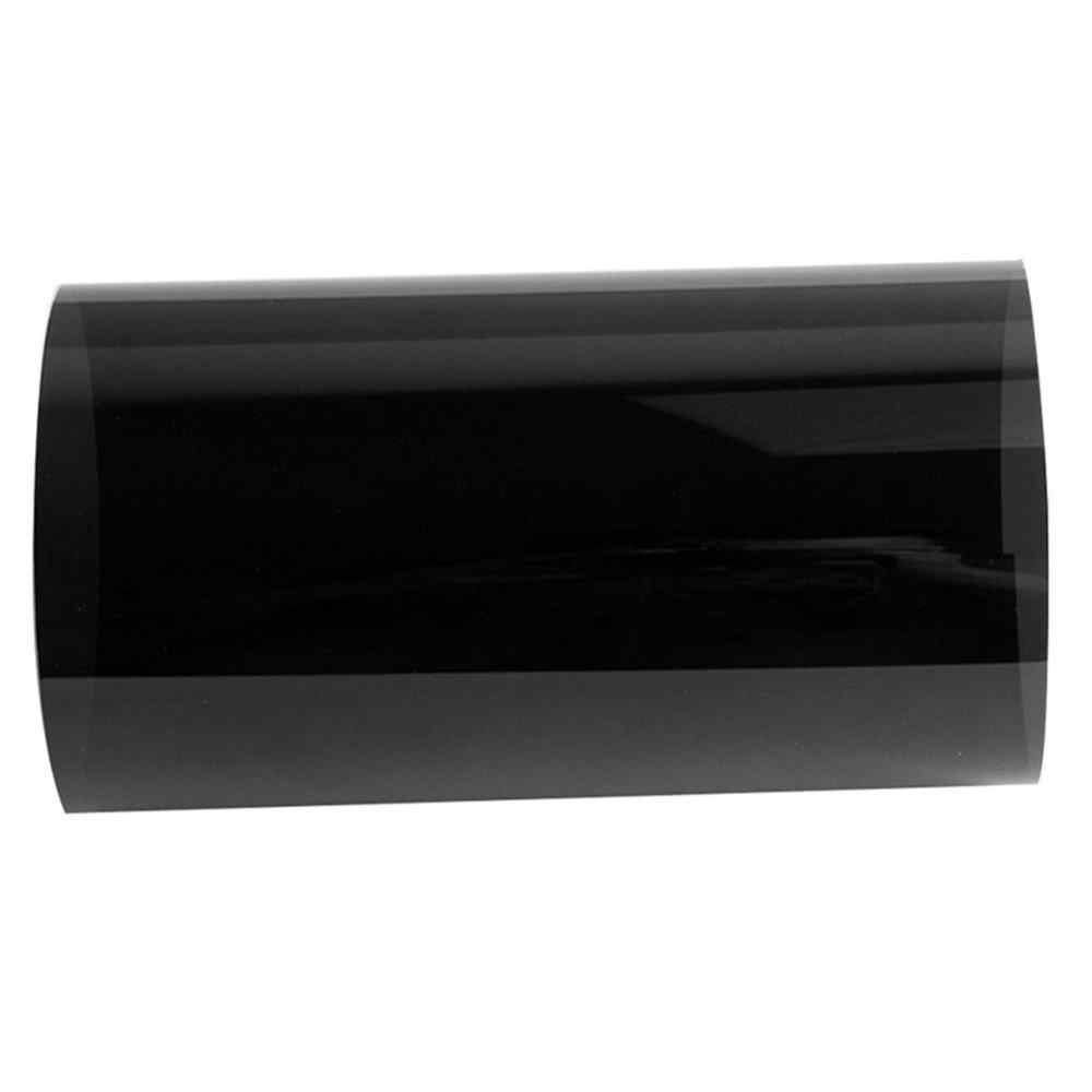 150x20cm VLT czarny Auto Car Home szyba okienna budynek folia barwiąca rolka boczna szyba Solar UV naklejka ochronna folie kurtynowe