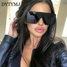 Dytymj крупные сонечные очки Для женщин ретро Квадратные Солнцезащитные