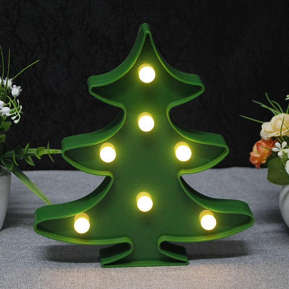 3D Led Christmas Tree Night Light LED Table Lamps Romantic Wireless Wall Lamp Kids Children Gift Wedding Home Decor