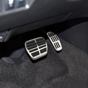 Image 3 - Car Gas Brake Pedal Cover Fit for Nissan X Trail Rogue T32 Qashqai Rogue Sport J11 Kicks for Renault Koleos Kadjar Samsung QM6