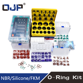 O Rings Rubber/Silicone O Ring Seal VMQ NBR FKM Sealing O-rings Nitrile Washer Rubber oring set Assortment Kit Set Box Ring silicone rubbe ring green fkm o ring 30size o ring seal rubber sealing o ring washer gasket o ring set assortment kit box