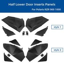 Half Lower Door Inserts Panels 2 Seat for Polaris RZR S XP 1000 TURBO 2014 2019 2015 2016 2017 2018