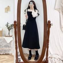 Vestido para meninas, novo S-XL vestido de festa para meninas; boho vestido feminino vintage; sem mangas compridas; vestidos longos robe;