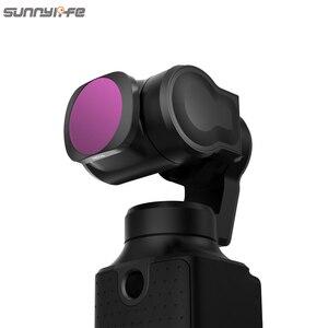 Image 2 - 3/4/6 Pcs Sunnylife FIMI PALM MCUV CPL ND ND4 ND8 ND16 ND32 Objektiv Filter Set Für FIMI PALM gimbal Kamera Zubehör