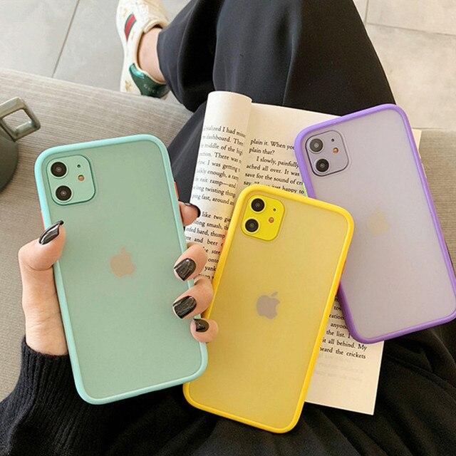 Mint Hybrid Case for iPhone SE (2020) 2