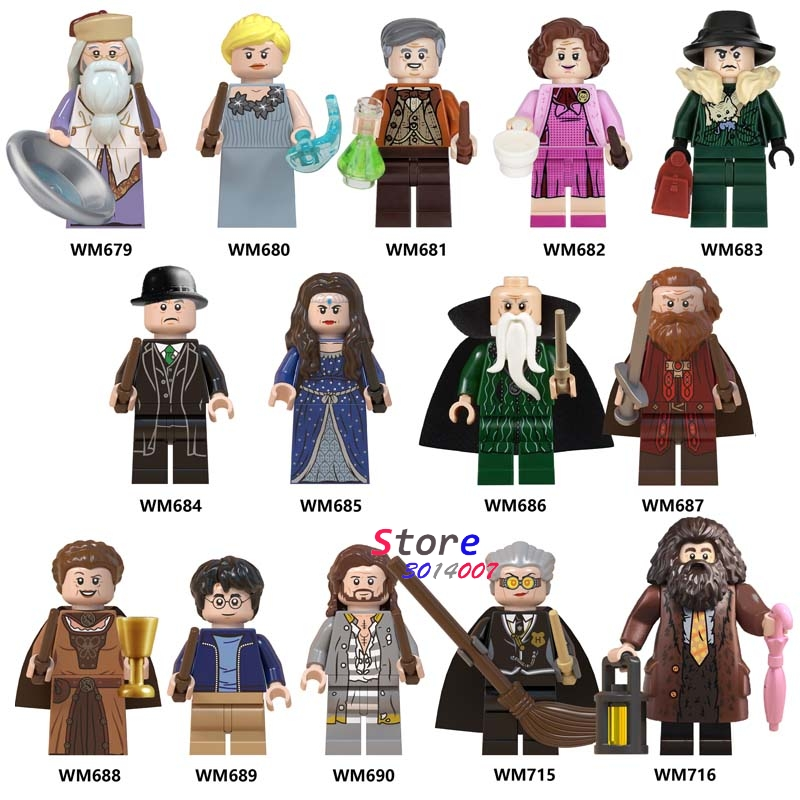 Single Building Blocks Rubeus Sirius Orion Gryffindor Graves Voldemort Toys For Children Harry