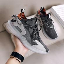 цена Hot Sale Light Vulcanize Shoes Comfortable Casual Men Sneaker Breathable Non-slip Wear-resistant Outdoor Walking Men Sport Shoes онлайн в 2017 году