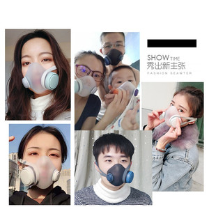 Image 5 - עבור youpin Woobi Dustproof אנטי ערפל ונושם פנים מסכות 96% סינון מסכות תכונות