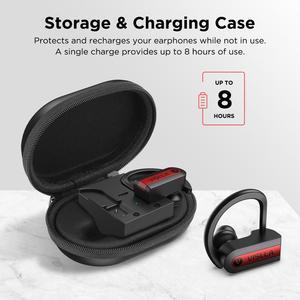 Image 4 - Vislla וו אוזן ספורט אוזניות ריצת אוזניות אלחוטיות Bluetooth 5.0 TWS אוזניות Hifi בס Earbud אוזניות HD Binaural