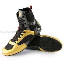 Men Professional Boxing Wrestling Shoes Breathable Combat Sneakers for Men High Top Training Fighting Boots Big Size 35-46