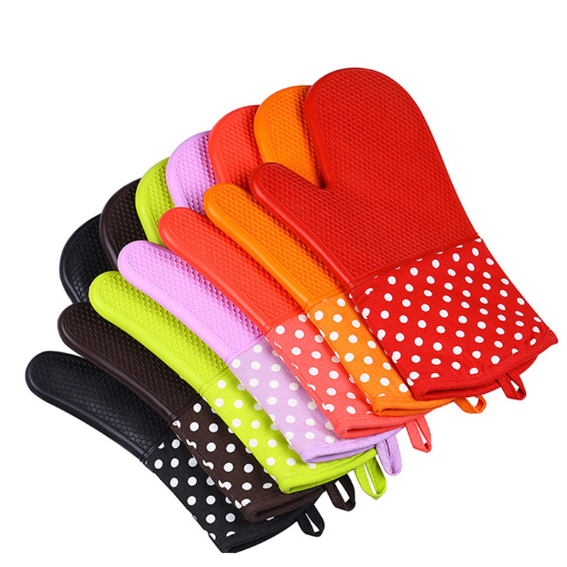 2019 New Baking High Temperature Microwave Oven Insulation Gloves