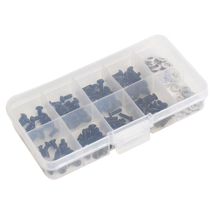 180Pcs M3*6/8/10/12 Screws Box