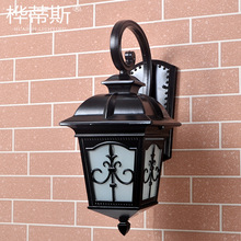 цены Retro Outdoor Wall Light Favorable Europe Villa Sconce Lamp Waterproof Exterior Garden Doorway Light Vintage Entrance Porch Lamp